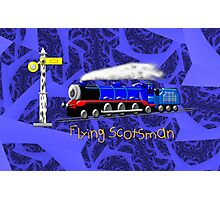 Flying Scotsman for Kids - all products except duvet Photographic Print