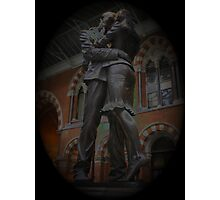 St Pancras Lovers Photographic Print