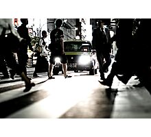Zebra Crossing: Ikebukero, Tokyo, Japan Photographic Print