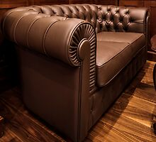 leather sofa in Home Interior by mrivserg