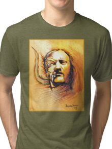 Lemmy of Motorhead Tri-blend T-Shirt