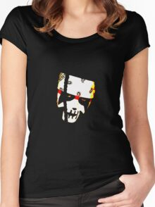 Totem Pole Warrior Women's Fitted Scoop T-Shirt