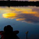 Sunset in the Amazon by Aran Durham