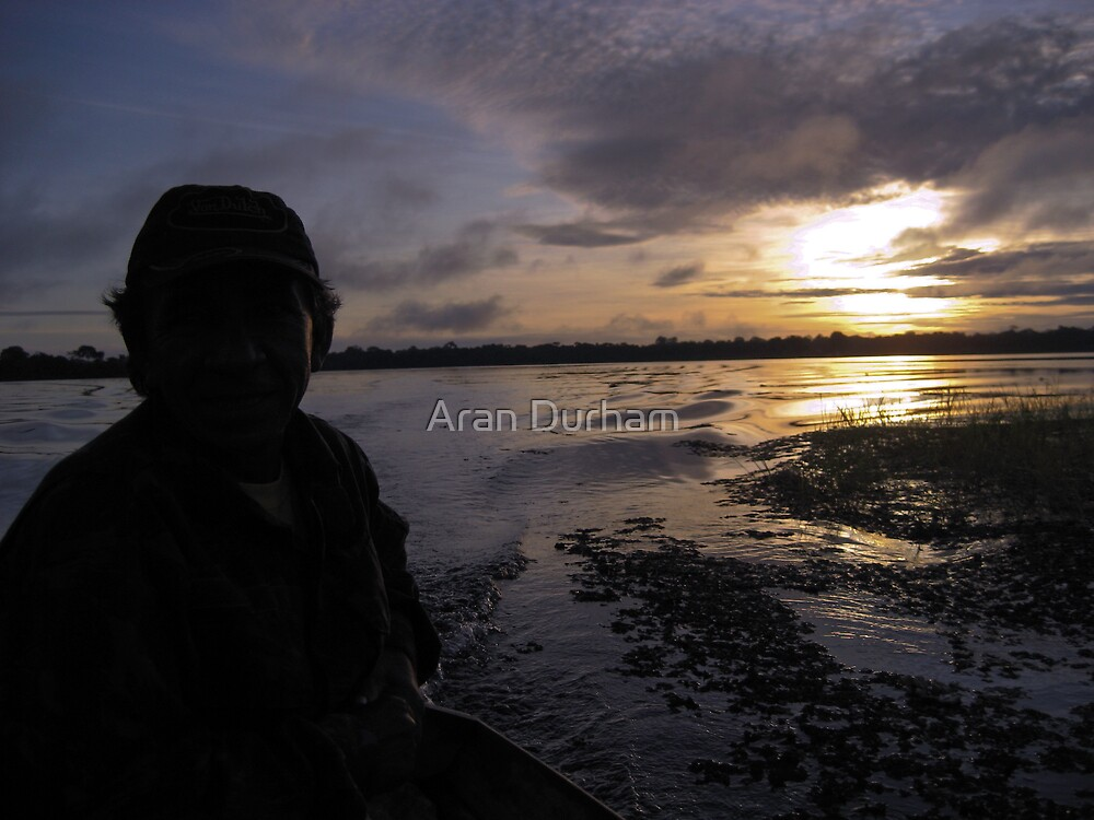 Sunrise in the Amazon by Aran Durham