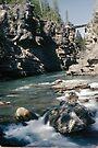 Rocky Mountain River by Allen Lucas