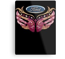 Ford Breast Cancer Metal Print