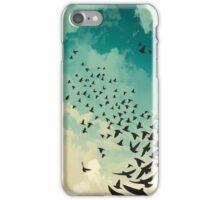 Flocking Birds iPhone Case/Skin