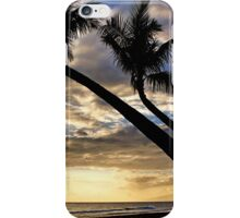 Kaanapali Palms Silouette iPhone Case/Skin