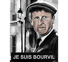 Bourvil Photographic Print