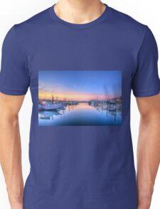 Marina sunrise_4 Unisex T-Shirt