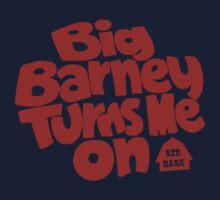 Big Barney Turns Me On Kids Clothes