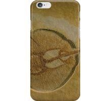 Flat Fish Fossil iPhone Case/Skin