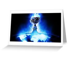 World Championship Trophy - League of Legends Greeting Card