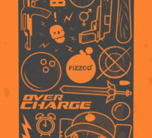 Sunset Overdrive Can Sticker