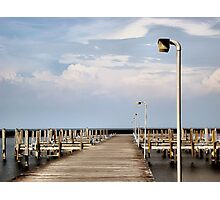 Docks Photographic Print