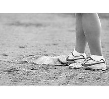 Base Runner Photographic Print