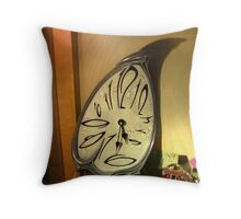 Time just slips away Throw Pillow
