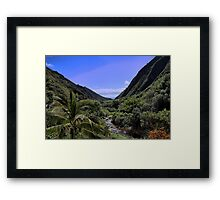 Iao Valley Framed Print
