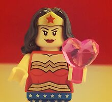 Wonder Woman Valentines by FendekNaughton