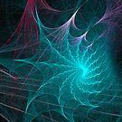 Fractal Web by Ann Garrett