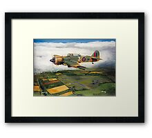 Martinet Target Towing 1945 Framed Print