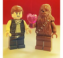 Han Loves Chewy Photographic Print