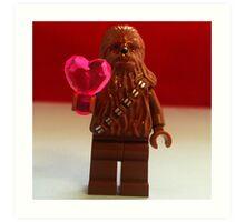 Chewy Valentines Art Print