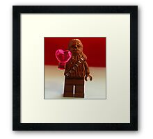Chewy Valentines Framed Print