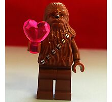 Chewy Valentines Photographic Print