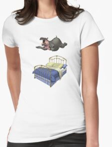 Break Time (wordless) Womens Fitted T-Shirt
