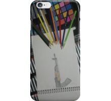 Art against the gun iPhone Case/Skin