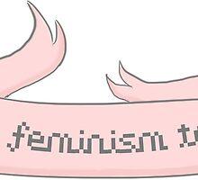 talk feminism to me ♥ by oskaerys