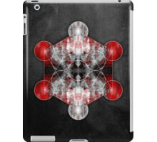 Metatron's Cube red iPad Case/Skin