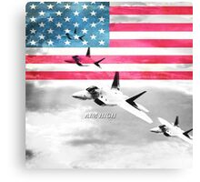 United States Air Force(USAF) Canvas Print