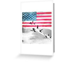 United States Air Force(USAF) Greeting Card