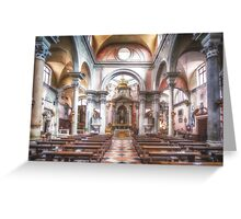 The church of San Canciano, Venice Greeting Card