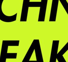 TECHNO FREAK (ELECTRO GREEN) Sticker