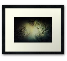 WaiFai and Forest Dual Exposure Framed Print