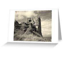Greenan Castle Greeting Card