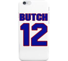Basketball player Butch Carter jersey 12 iPhone Case/Skin