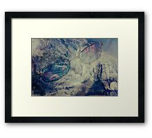 WaiFai and Forest Dual Exposure 3 Framed Print