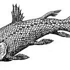 Inked Coelacanth by Sladeside