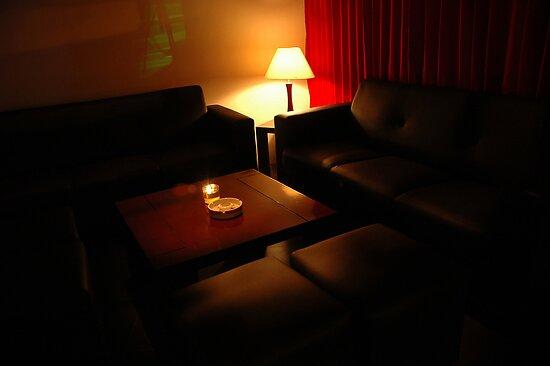 cafe interior by bayu harsa