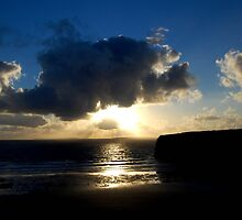 Ballybunion Sunset by Pat Herlihy