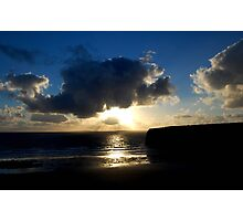 Ballybunion Sunset Photographic Print