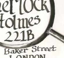 Sherlock Holmes' Letter Sticker