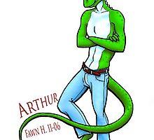 Arthur Lizard by Sladeside