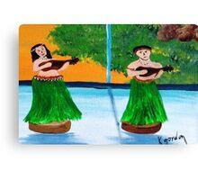 Wahini & Kane Canvas Print