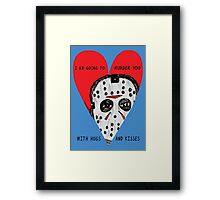 Murder Love Framed Print