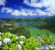 Sete Cidades crater, Azores by Gaspar Avila